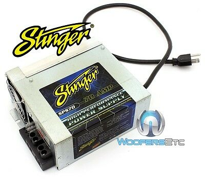 Stinger Sps70 High Performance 70 Amps 1250 Watts Power Supply New Made In Usa