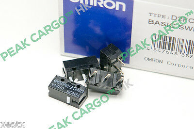 4x OMRON D2FC-F-7N(20M) Micro Switches Microswitch - RAZER Logitech G600 Mouse