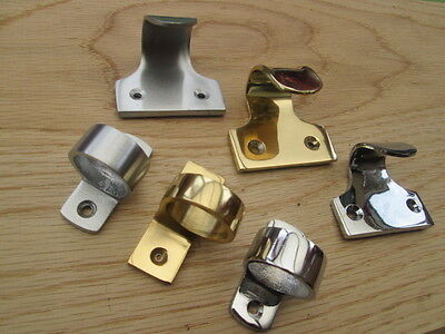 Solid Brass Victorian Vintage Old  Style Window Sash Fittings Handles