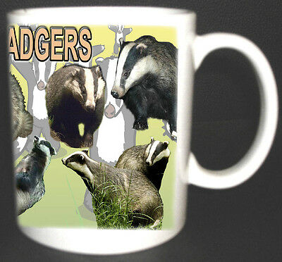 Save The Badgers Coffee Mug Limited Edition Great Design Can Be Personalised Foc