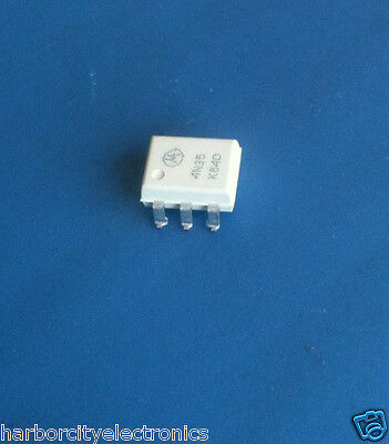 4N35S Motorola Optoisolator Trans 5.3Kvrms 6 Pin Smd