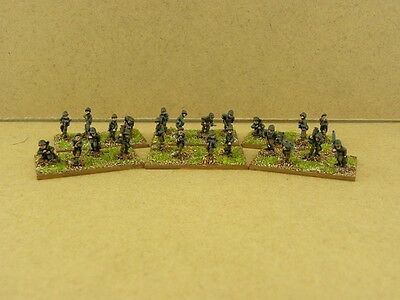 FOW painted U.S.A The 'Devils Brigade' Platoon, Two sections US748