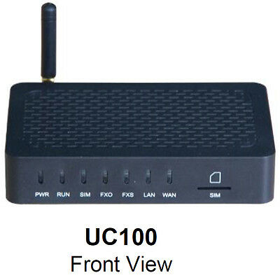 Dinstar UC100 All-in-one 1 channel GSM, FXS + SIP, WiFi VoIP Gateway