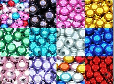3D illusion miracle round acrylic beads various sizes and colours