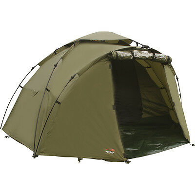 TF Gear Force 8 Carp Fishing Bivvy 1 or 2 Man Quick Erect With Groundsheet TFG