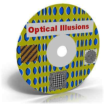 Optical Illusions 1900+ Images Teaching Aid Escher Mind Games Eye Tricks Moving