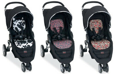 Britax B-Agile Stroller Fashion Kit Seat Cover In Redwood Brand New!!