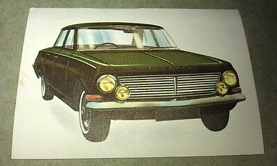 1964 VAUXHALL CRESTA Jacques Chocolates BELGIUM Trade Swap Card - RARE !