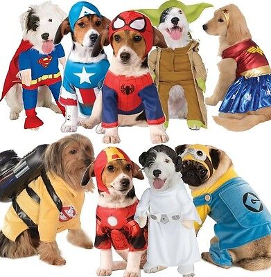 Pet Dog Cat Superhero Christmas Gift Halloween Party Fancy Dress Costume Outfit
