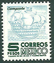 MEXICO #951 Mint Never Hinged, Scott $100.00