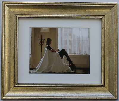 In Thoughts Of You by Jack Vettriano Framed & Mounted Art Print