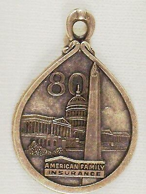 Vintage Old Lgb Sterling Nations Capital Tourist Charm