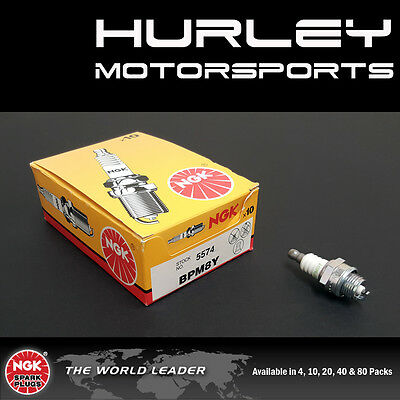 NGK V-Power Spark Plugs - Stock #5574 - BPM8Y - Solid Tip - Qty (20)