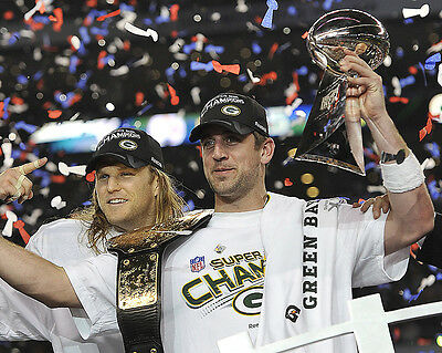 Green Bay Packers Super Bowl Champions 01 (American Football) Photo Print