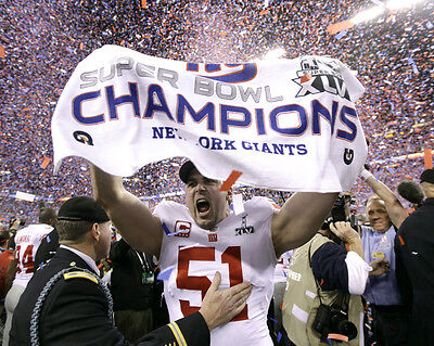 New York Giants Super Bowl Winners 2012 02 (American Football) Photo Print