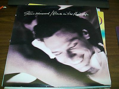 Steve Winwood-Back In The High Life-LP-Island-OG Sleeve-Vinyl Record-NM