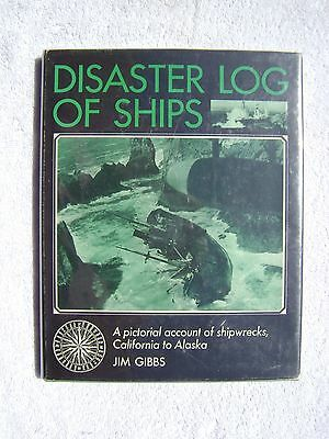 Disaster Log Of Ships  Book Maritime Nautical Marine (#122)