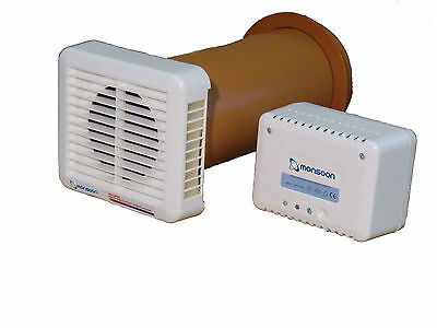 Monsoon Single Room Heat Recovery Unit Condensation and Mould Cure NEW IN BOX