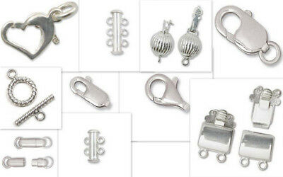 925 - Sterling Silver Clasps - varied styles & sizes