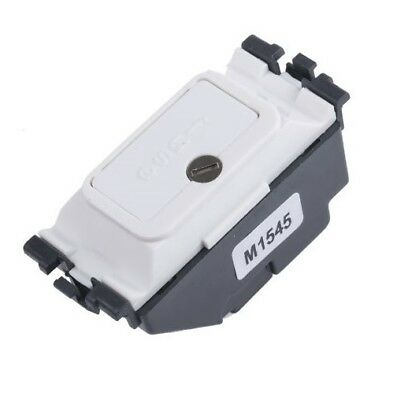 MK 993WHI 2A FUSED CIRCULAR BESA BOX MOUNTED CLOCKPOINT