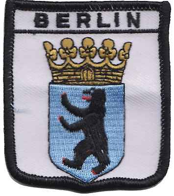 Germany Berlin Crest Shield Embroidered Patch Badge