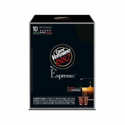 120 Capsule Compatibili Nespresso Caffe' Vergnano Espresso Intenso Break Shop