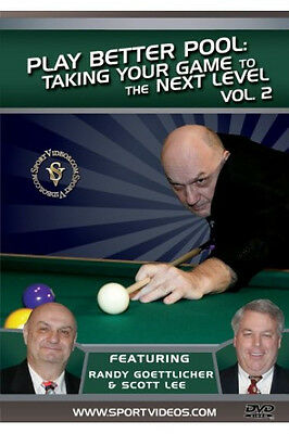 PLAY BETTER POOL BILLIARDS DVD------Take Your Game to the Next Level-----new