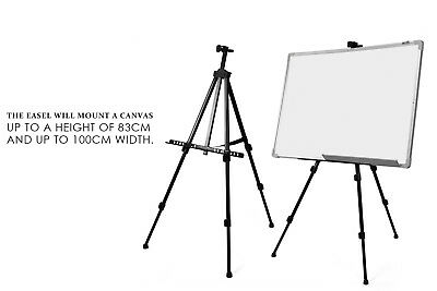 Folding Tripod Display Easel Stand Drawing Board Art Sketch Painting Adjustable