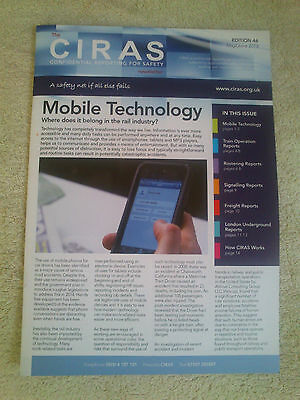 CIRAS MAGAZINE Trains Railway Accident Reports Safety May/June 2013 British Rail
