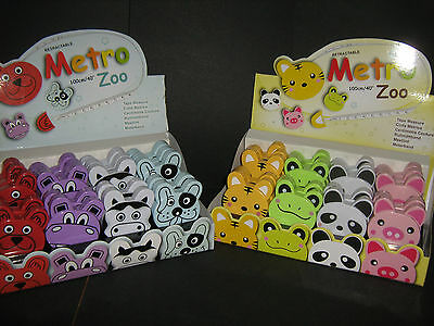 Metro Zoo Retractable Tape Measure 8 Designs Craft / Sewing / Embroidery