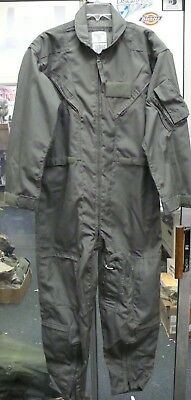 Us Air Force Cwu-27/p Nomex Flight Suit Coveralls Flyer's Men Sage Green New