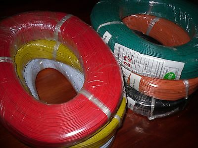 10 Metres 22AWG UL-1007  Hookup Wire Cable Stranded Tinned Copper  Core