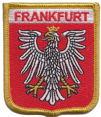 Germany Frankfurt Crest Shield Embroidered Patch Badge