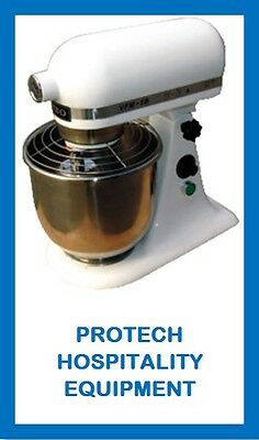 *new* Commercial Planetary Mixer [Yellow] 7Litre  Cafe Bakery Restaurant 13Month