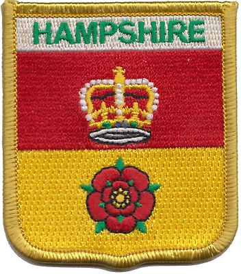 Hampshire County Council Flag Embroidered Patch Badge