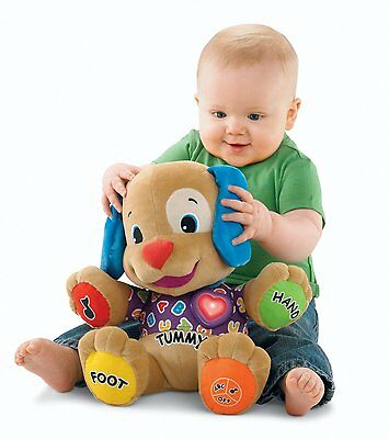 Fisher-Price Laugh & Learn Love to Play Puppy, Free Shipping, New