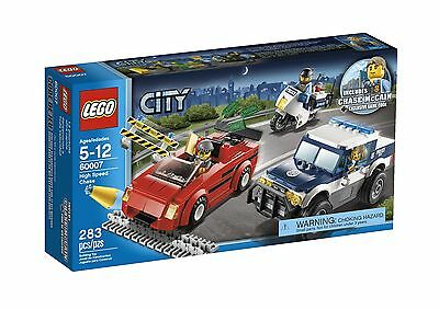 LEGO City Police High Speed Chase 60007, Free Shipping, New