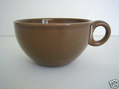 Russel Wright Iroquois Casual China Cup Nutmeg Brown