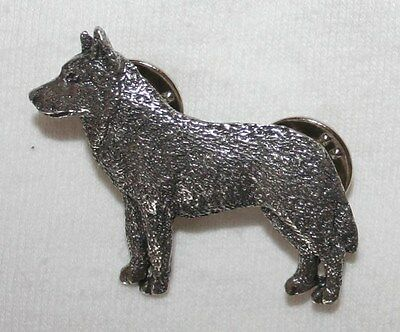 HUSKY Dog Fine PEWTER PIN Jewelry Art USA Made