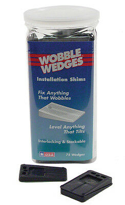 Wobble Wedge BLACK OEM 2075 Shim Table Leveler 75 count 36353