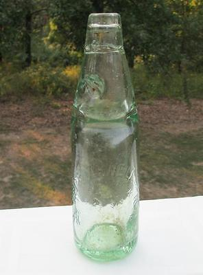 Antique Codd Bottle Marble THOs ROTHWELL ARKWRIGHT ST BOLTON CO. ALEXANDER LEEDS