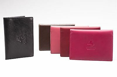 Visconti Genuine Leather Credit Card Holder Business ID Oyster Wallet Real TC1