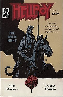 Hellboy The Wild Hunt #1-6 Mini Series - Mignola Scripts -Fegredo  - Artwork