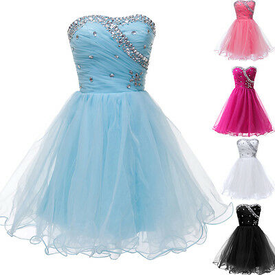 Teens Girls Dress Short Prom Ball Gown Homecoming Cocktail Party Evening Dresses
