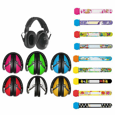 Id Band & Childs Infants Baby Kids Ear Defenders Muffs Earmuffs