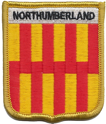 Northumberland County Flag Embroidered Patch Badge