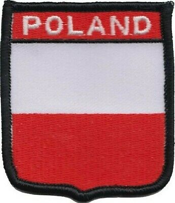 Poland Flag Embroidered Patch Badge