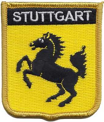 Germany Stuttgart Crest Shield Embroidered Patch Badge