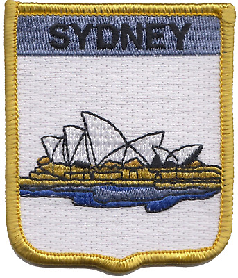 Australia Sydney Opera House Embroidered Patch Badge