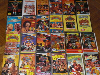 WRESTLING VIDEOS auf VHS Originale King of the Ring SummerSlam WWE WWF WCW Hulk